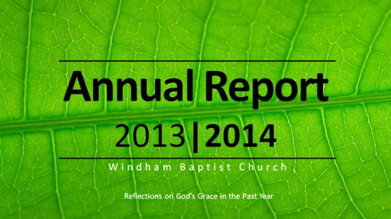 WBC Annual Report 2013-14